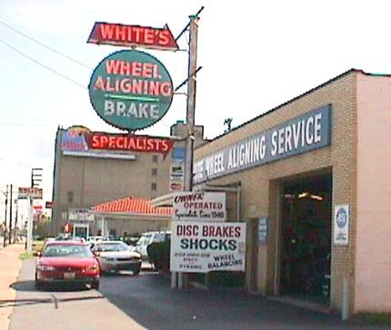 White Wheel Aligning