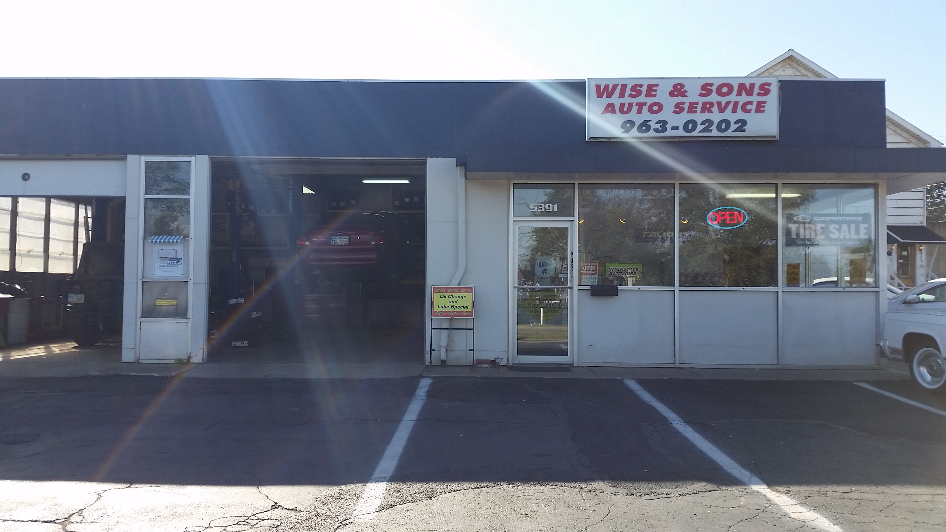 Wise and Sons Auto Service