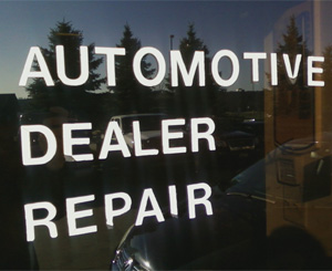 Automotive Dealer Repair
