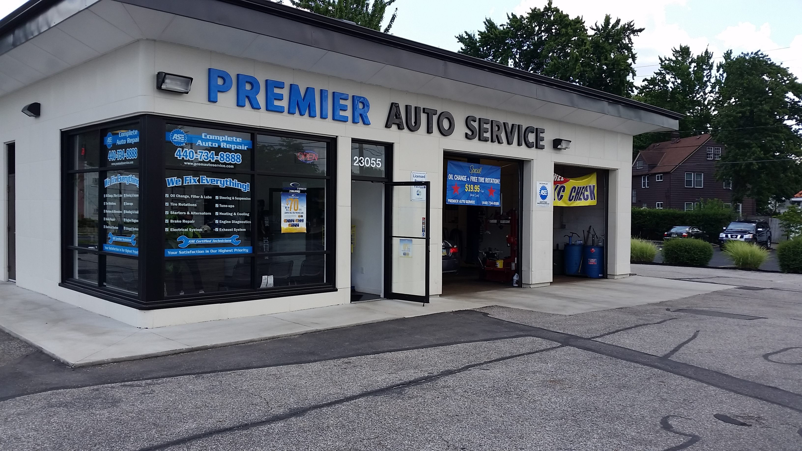 PREMIER AUTO SERVICE N.OLMSTED